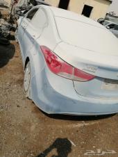 سيارتين النترا 2013مصدومة تشليح قطع غيار فقط