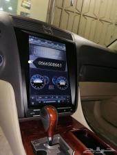 شاشه لكزس GS الجديده موصفات قويه