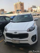سيارة كيا سبورتاج للبيع او التنازل