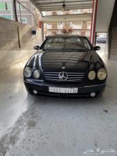 مرسيدس CL 500 موديل 2001