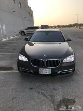 BMW 750 موديل 2014 ماشي 77 الف نظيف