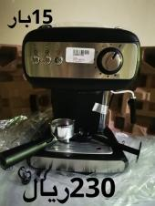 مكينة قهوة 15 بار 230 ريال