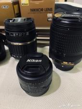كاميراء نيكون استخدامتها قليل مع عدسات