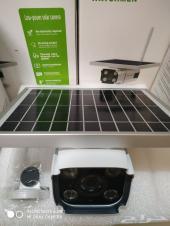 كميرا خارجية طاقة شمسية عدسة 3 ميقا بشريحة 4G