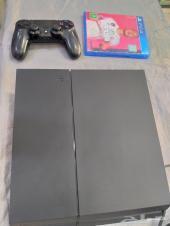 بلايستيشن 4 مستعمل بيد و فيفا 20 PS4 سوني