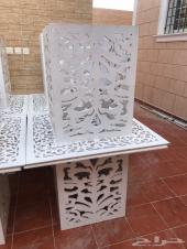 طاولات بيضه خشبي