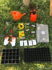 صندوق مستلزمات الزراعة والعناية بالنباتات