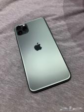 ايفون 11 برو ماكس 64 جيجا اخضر
