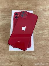 أيفون 11 العادي 64 Red شبه جديد