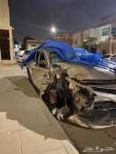 كامري مصدوم استاندر سعودي