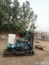 مولد كهرباء كيرلوسكار 45 كيلز 220-380 نظيف