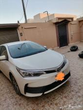 للبيع سيارة كورولا 2017