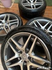 جنوط مرسيدس S اصليه AMG