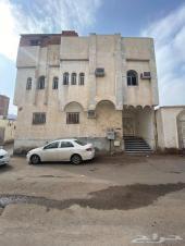 للبيع عماره  تقع مابين مسجد قباء والحرم