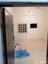 شقة للايجار غرفتين حي ملقية خلف بن لافي