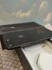 ايفون 8 بلس لون فلكي 64 قيقا شبه جديد