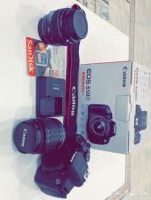 للبيع كاميرا كانون 650D