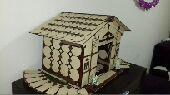 بيت من خشب تركيب يدوي على السوم باقرب وقت