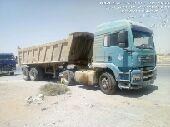 شاحنة مان قلاب للبيع