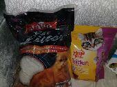 اغراض قطط واكل للبيع