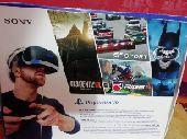 سوني 4 vr. نظاره الواقع الافتراضي