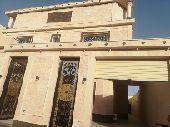 فيلادوروثلاث شقق مساحة 450م تفتح علي مسجد