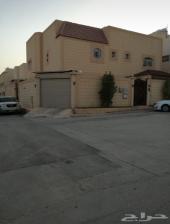 فيلا مع شقة مسروقة غرب الرياض عليها بنك عقاري
