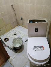 شركة تسليك مجاري ومعالجة رائحة الحمام الكريهه