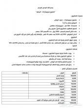 مشروع سوبرماركت - الرياض- شركة مساهمة مقفلة
