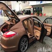 سيارة بورش للبيع موديل 2010  نظيفة جدا