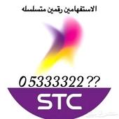 للبيع. رقم رباعي STC السوم 2000