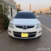 السيارة  جيب مازدا - CX9 الموديل  2009