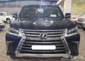 لكزس LX 570 فل كامل 2017 سعودي