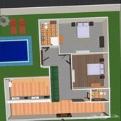 تصميم 3D للحدائق والمباني