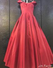 فستان مناسبه فخم (شبكه )تفصيل جديد ونظيف