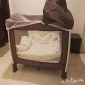 سرير أطفال مع مرتبه من سنتربوينت