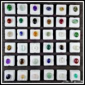 مجموعه احجار كريمه عدد 36 منوعه