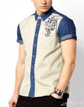قميص جينز ملون بسعر مغري جدا