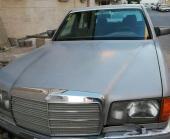 مرسيدس بنز كلاسيك موديل 1984SEL50 فل اوبشن