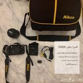 كاميرا نيكون D3200 للبيع يبدء السعر من 800 إلى 950