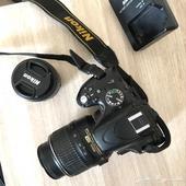 كاميرا احترافية للمبتدئين مع عدسة 50mm