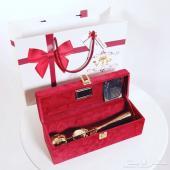 اجمل الهدايا النسائية لكل المناسبات وردة مطلي