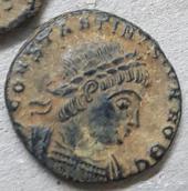 عملة رومانية و بيزنطية نادرة واصلية على الشرط