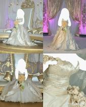 فستان زفاف ايطالي فخم للبيع