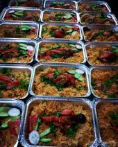 توزيعات وجبة رز7ريال للصدقات