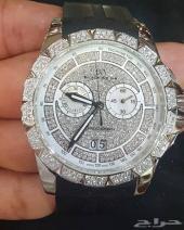 ساعه بلاك ارمين BLACK ARMIN الماس سويسرية