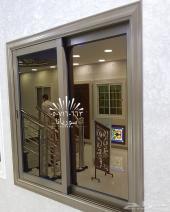 نوافذ وشتر وابواب المنيوم قبب الزجاج المعشق
