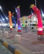 بالونات راقصه دعائيه افتتاح محلات وغيرها