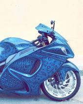 دراجة نارية  سوزكي  -  هايا بوزا  2016
