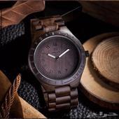 ساعة يد خشب شي جميل جدا